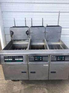 Pitco Frialator 3 Bay Gas Fryer