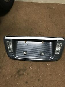 04 08 Acura Tl Trunk Reflector License Plate Panel Garnish Reverse Lights