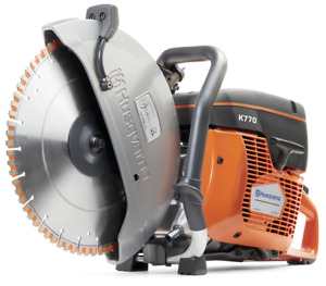 Husqvarna K770 14 Cutoff Saw With Flx 14 Diamond Blade For Cured Concrete