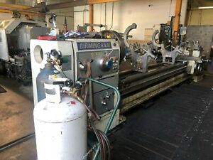 Birmingham 40 48 X 200 cc Gap Bed Engine Lathe 5 1 8 Thru Hole