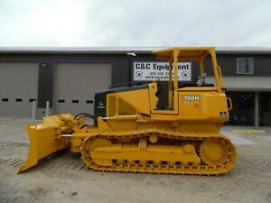 2002 John Deere 700h Xlt Dozer Nice Shape Over All