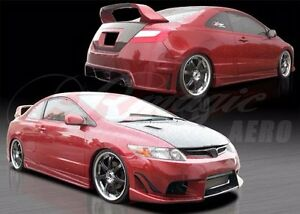 2006 2008 Honda Civic 2dr Coupe Ace Style Full Body Kit By Ait Racing