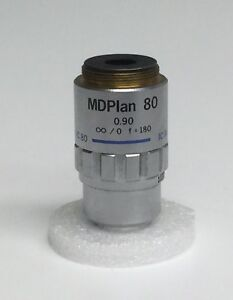 Olympus Md Plan 80x 0 90 0 Microscope Objective