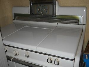 Vintage Kenmore Gas Stove With Middle Grill 40 Wide Pick Up Local Only