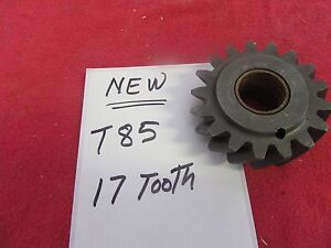 New Ford T85 Overdrive Transmission Reverse Idler Gear 17 Tooth t85aa 10