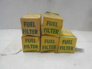 Fits Toyota Lot Of 5 New Fuel Filters Gft 469 Replaces 2330 34100 G1271