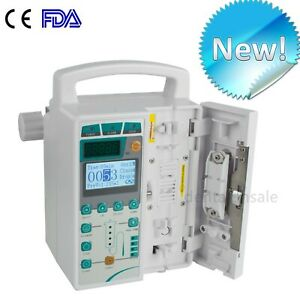 Fda Medical Infusion Pump Iv Fluid Infusion With Audible And Alarm For Human Use