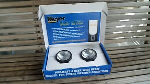 Set Of Meyer Snow Plow Bud Lites Accessory Lights New In Box