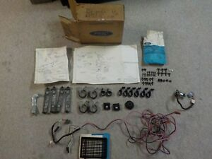 1972 Nos Ford Mercury Radio Speaker Kit D2az 18808 A