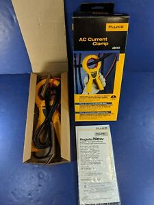 New Fluke I800 Ac Current Clamp Original Box