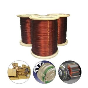 100g Weight Enamelled Copper Magnet Wire For Diy Motor Generator Projects Electr
