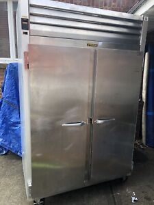 Traulsen G20010ts Two Section Solid Door Reach in Freezer 53 Width