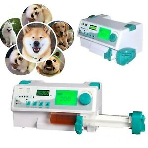 Fda Veterinary Injection Infusion Syringe Pump With Alarm Kvo drug Library Vet