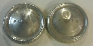 1950 s 1960 s Ford Fomoco Hubcaps Wheelcovers Dogdish Poverty Original