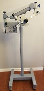 Carl Zeiss Opmi Dental Surgical Operating Microscope Endodontic Floorstand