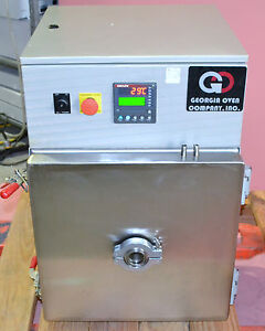Georgia Oven 1fv104027 Industrial Vacuum Oven With Watlow Controllers