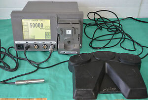 Stryker Tps 5100 50 Console With Stryker Core Sabre Drill Handpiece Footswitch
