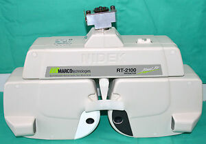 Marco Nidek Rt 2100 Refractor Auto Photopter Final Fit Phoroptor For Epic 2100