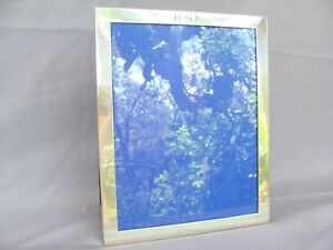 Vintage Carr Craft Sterling Silver Photo Picture Frame 8x10 Mono Rms