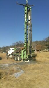 Water Well Drilling Rig 1978 Cp 7000 Mounted On 1986 International