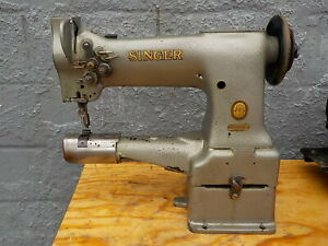 Industrial Sewing Machine Model Singer 154w101 cylinder Leather