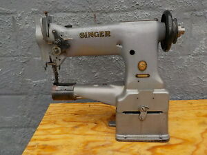 Industrial Sewing Machine Model Singer 153 103 Walking Foot cylinder Leather