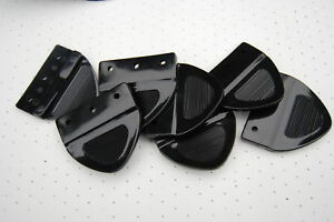 Xy Xw Ford Falcon Gt Gs Zc Zd Seatbelt Plastic Tongue Black 1 With Rivets