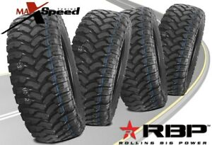 Qty Of 4 Rbp Repulsor Mt 37x13 50r20lt 127q All Terrain Mud Tires Mt