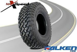 Qty Of 1 Falken Wild Peak Mt01 Lt37x13 50r20 E 127q Blk All Terrain Mud Tires