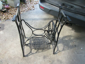 New Home Antique Treadle Sewing Base Industrial Legs Table Legs