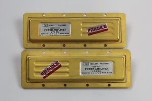 Hp Agilent 5086 7342 2 0 To 7 0 Ghz Sma f f Power Amplifier lot Of 2