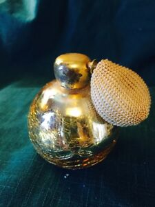 Vintage Perfume Bottle With Atomizer Probably 1940 1960