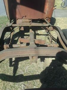 1936 37 38 Chevy Pickup Truck Spare Tire Bracket