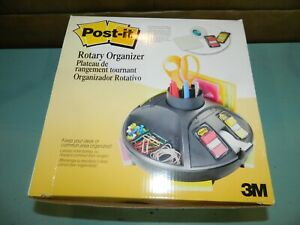 3m Post it Rotary Desktop Organizer