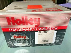 Holley Electronic Performance Carburetor 34 4412 500 Cfm 4412 List 4412 1 2579