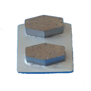 Concrete Surface Prep 16 20 Grit Double Segment Diamond Grinding Shoes Lock in