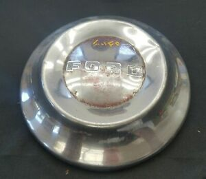 1950 s Ford Hubcap Wheelcover Dogdish Poverty Fomoco
