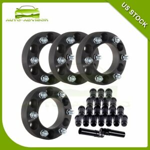 New 4pcs 1 5 6x139 7 12x1 5 Wheel Spacers 20pc Lug Nuts 00 15 For Toyota Tacoma