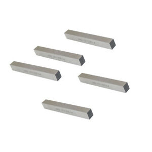 5 Pc M42 Cobalt Steel Square Lathe Tool Bits Milling Fly Cutter 1 2 X 1 2 X 4