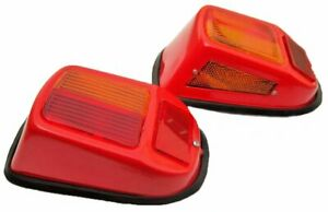 Steyr Pair Tractor Front Turn Signal Light Vintage