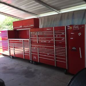 Snap On Snapon Snap On Tool Box 10 Piece Set Up Nice Red Krl Series