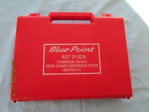 Blue Point Diesel Compression Adapter Kit Snap On Tools Mt 33b Gauge 0 800 Psi