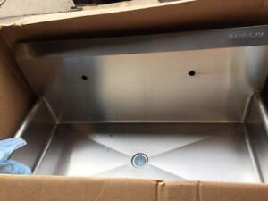 Sani lav Stainless Steel Sink Wash Station Cat No 54wsl Sink Only Wall Mount