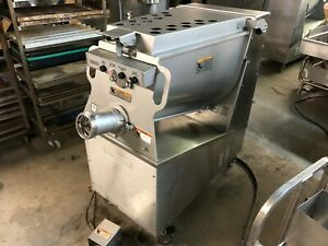2019 Hobart Mg1532 Heavy Duty 8 5 Hp Meat Mixer Grinder 208 Volt 3 Phase Clean