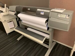 Hp Designjet 5500ps 60 Color Printer Inkjet Plotter