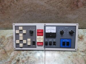 Japax Ldm35a Main Operator Control Panel Switch Unit Cnc Edm