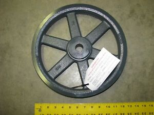 Browning 2bk130x1 V belt Pulley Double Groove 12 3 4 Inch Od B Belt