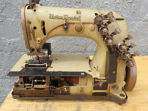 Industrial Sewing Machine Union Special 54 400 H with Rear Puller
