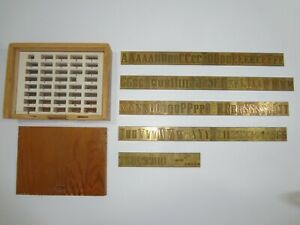 New Hermes Wriggle Block 35 317 66 126 Piece Master Copy Engraving Font Set