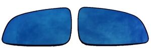 Aspherical Blind Spot Side Mirror Pair Left Right For Saturn Astra